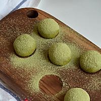 日式抹茶奶油球的做法图解14