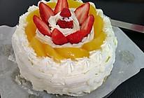 戚风蛋糕(8寸)#豆果5周年#的做法