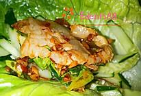 生菜卷肉的做法