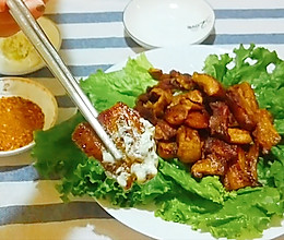 【生酮饮食·真酮】0失败的香脆炸五花肉(减肥食谱,一起瘦)的做法