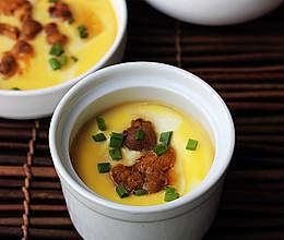 海胆水豆腐蒸蛋的做法