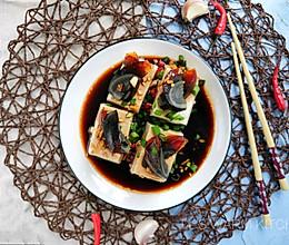 #做道懒人菜,轻松享假期#皮蛋豆腐的做法