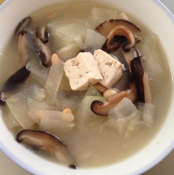减肥冬瓜香菇鱼汤煲