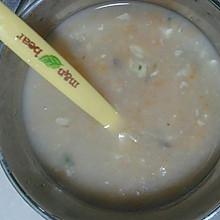 自制宝宝海虾大米粥