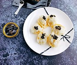 #硬核菜谱制作人#土豆泥鱼子酱的做法