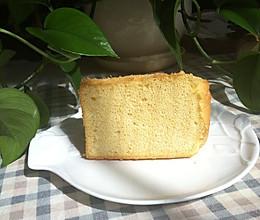 青井老师的黄豆粉戚风蛋糕#寻人启事#的做法