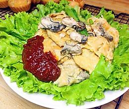 牡蛎炒鸡蛋的做法
