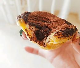 巧克力爆浆脏脏蛋挞的做法