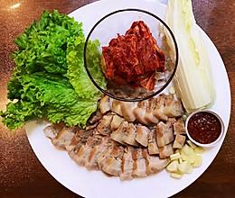 人人都爱的韩式五花肉料理:韩式营养菜包肉