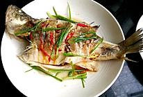 清蒸鲈鱼#春天不减肥,夏天肉堆堆#的做法
