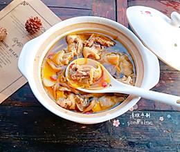 #2018年我学会的一道菜#黄花菜炖母鸡汤的做法