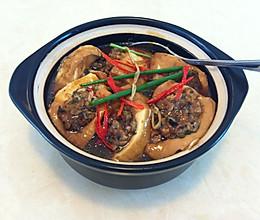 煲仔生焗酿豆腐的做法