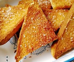 好吃又简单的蜂蜜吐司脆脆角的做法