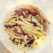 浇拌海鲜菇