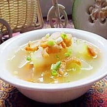 海米冬瓜汤