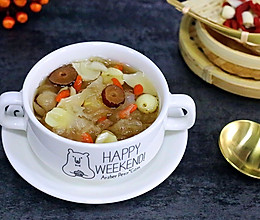 银耳莲子百合汤的做法