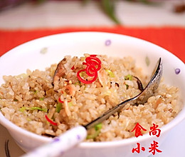 香菇糙米饭的做法