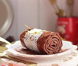 巧克力毛巾卷的做法