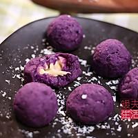 芝士紫薯球的做法图解7