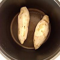 蒸地瓜丸子 豆沙馅的做法图解1