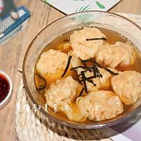 #花10分钟,做一道菜!#鲜虾云吞-快手早餐的做法图解13