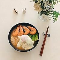 鲜虾青菜面的做法图解7