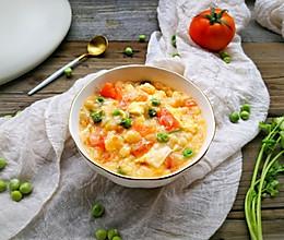 番茄豆腐蛋花面疙瘩的做法