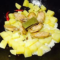 香辣土豆咖喱鸡翅--雄鸡标椰浆试用报告四的做法图解10