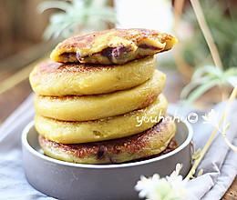 红薯豆沙糯米饼的做法