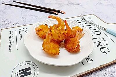 #多力金牌大厨带回家-北京站#聚餐小点心《面包糠炸虾》