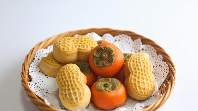 今年最火的好柿花生月饼的做法