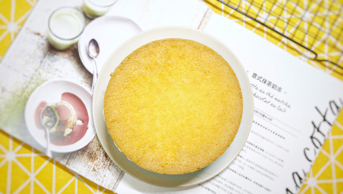 6寸蛋糕胚-东菱K33B烤箱食谱