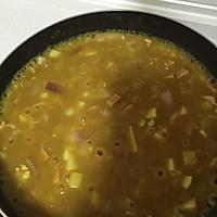 土豆洋葱火腿咖喱饭的做法图解11