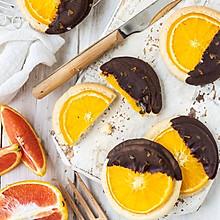 烤箱创意食谱 橙子巧克力曲奇饼干