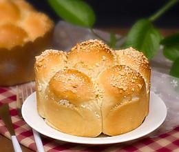 花朵面包的做法