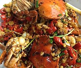家常香辣蟹的做法