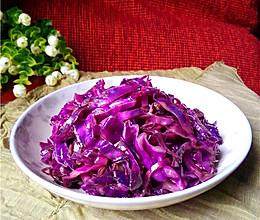 素炒紫甘蓝的做法