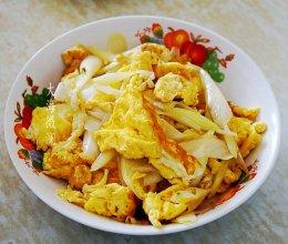 大葱炒鸡蛋的做法