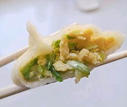 西葫芦鸡蛋馅蒸饺的做法
