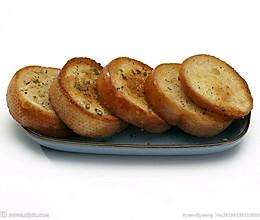 蒜蓉面包的做法