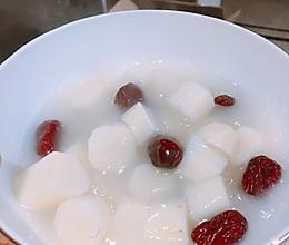 山药红枣甜汤的做法