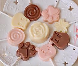 自制超浓奶酪棒(原味+草莓味+巧克力味)的做法