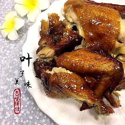 秘制烤鸡(超简单版)
