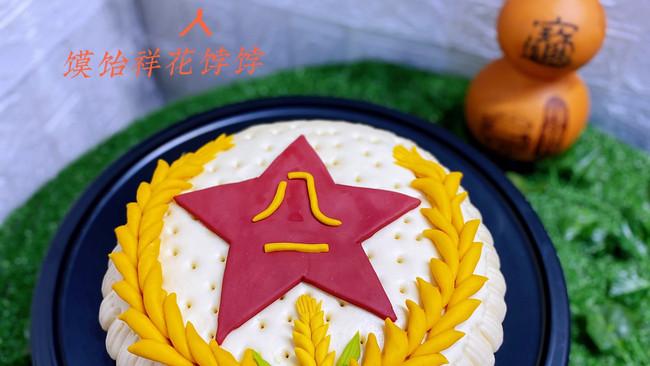 建军节中式蛋糕的做法