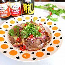 #名厨汁味,圆中秋美味#凉拌香菜牛肉