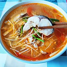 番茄草鱼汤