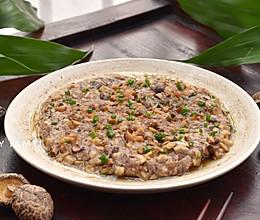#今天吃什么# 冬菇猪肉饼的做法