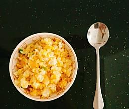 葱香蛋炒饭的做法