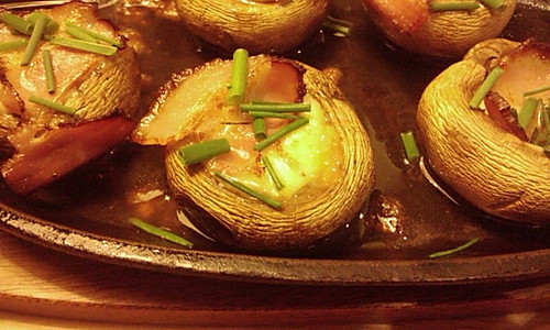 芝士培根蘑菇——烘培的做法