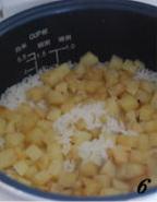 土豆焖饭的做法图解6